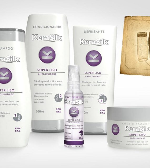 3D Mock-up Shampoos and conditioners