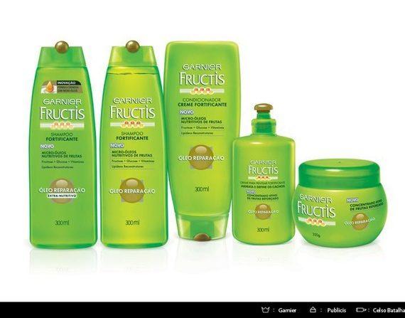 3D Mock-up Shampoos Fructis